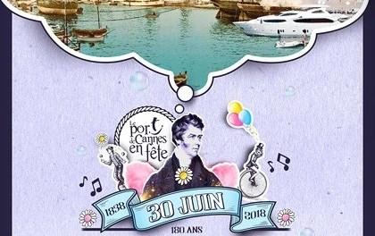 Le Port de Cannes en fête