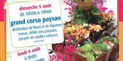 La Fête des Paysans et de la Saint-Sauveur  à Vallauris