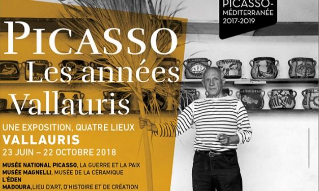 Picasso, les années Vallauris