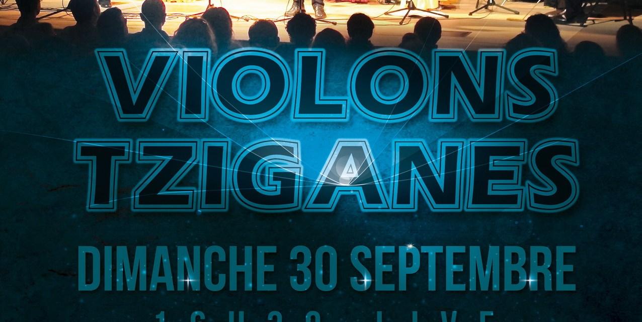 Concert de l'Ensemble de Violons Tziganes de Cannes