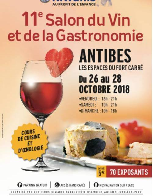 Salon du Vin et de la Gastronomie d'Antibes