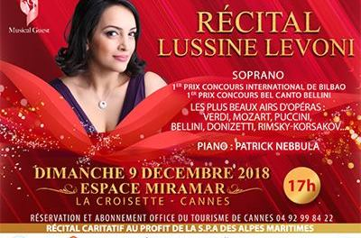 Récital Lussine Levoni au profit de la SPA des Alpes-Maritimes