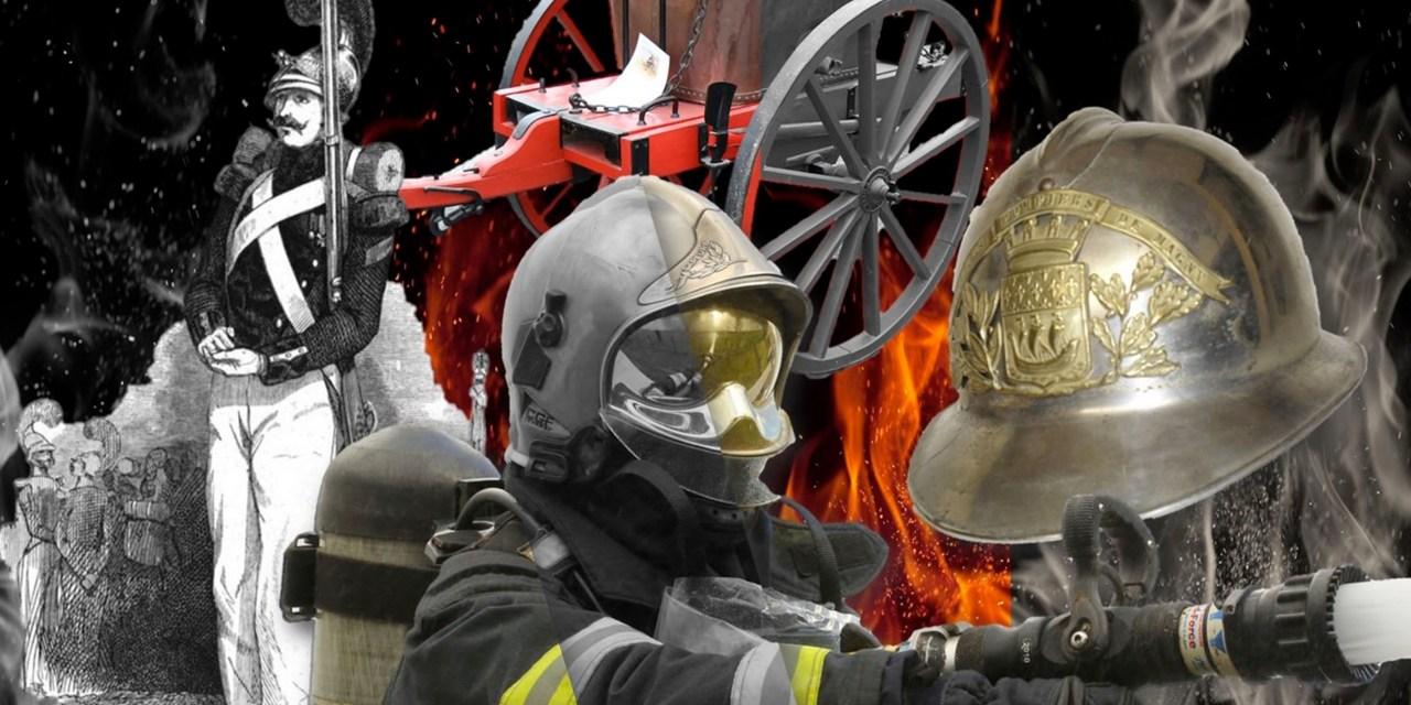 Les Sapeurs-Pompiers d'hier et d'aujourd'hui à Levens