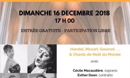 Concert lyrique de Noël de l'Ensemble L'Estro Armonico