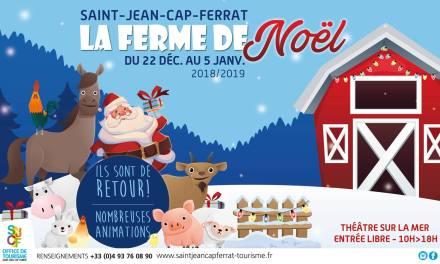 Noël à la ferme à Saint-Jean-Cap-Ferrat
