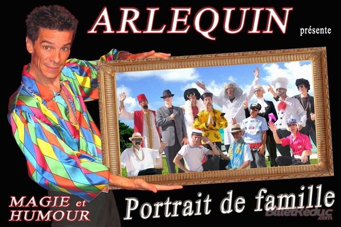 Arlequin dans Portrait de famille