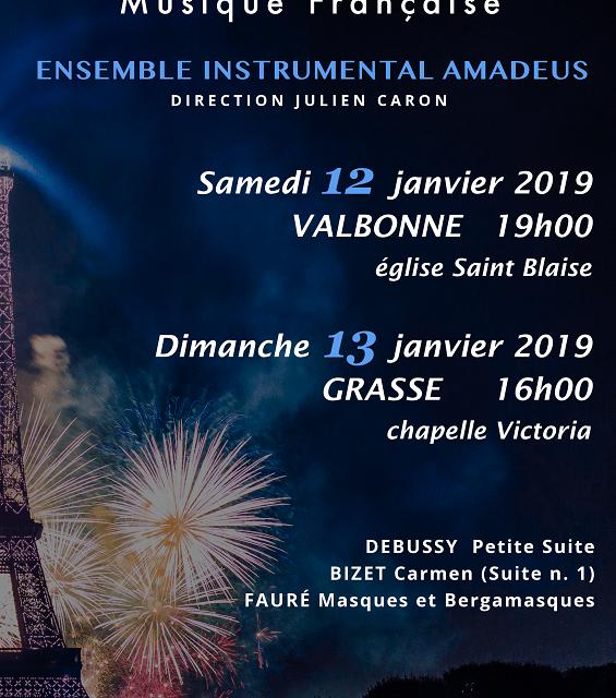 Concerts Musique Française