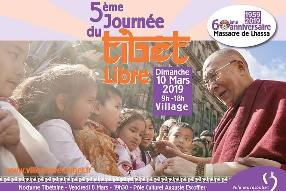 Journée du Tibet à Villeneuve-Loubet