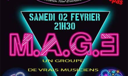 Les années 80 chantées et dansées avec MAGE + nuit DJ