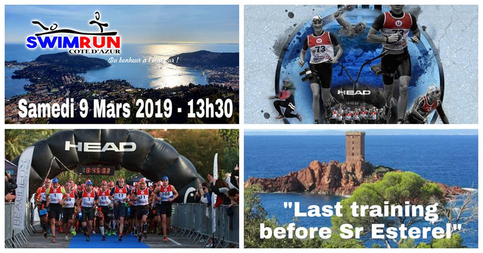 "Swimrun Côte d'Azur ""Last Training Before SR Esterel"""