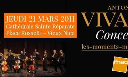 Les Moments Musicaux – Concert Antonio Vivaldi