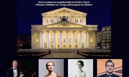 """Concert exceptionnel """"Les artistes de l'atelier lyrique du Bolchoï"""""""