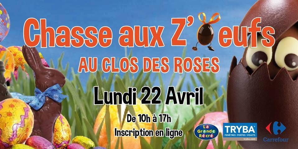 Chasse Aux Z'oeufs au Clos des ROSES