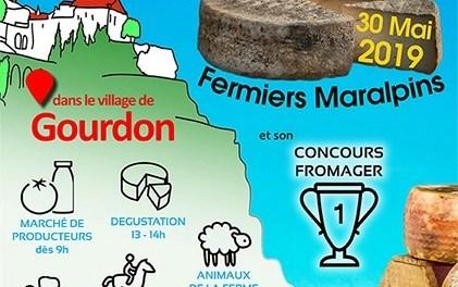 Fête des Fromages Maralpins à Gourdon