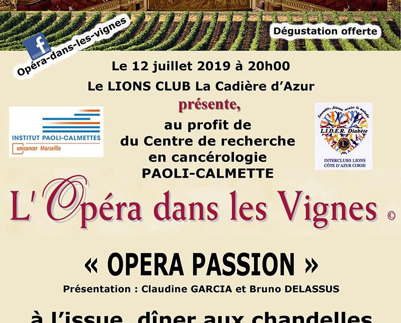 L'Opéra dans les Vignes