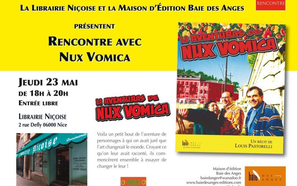 """""""Rencontre avec Nux Vomica"""" en compagnie de Louis Pastorelli"""