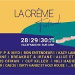 La Crème Festival à Villefranche-sur-Mer