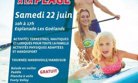 Tous à la plage à Saint-Laurent-du-Var