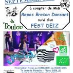 Repas Breton Dansant  suivi d'un Fest Deiz