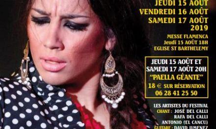 Festival Flamenco 2019 à Gorbio