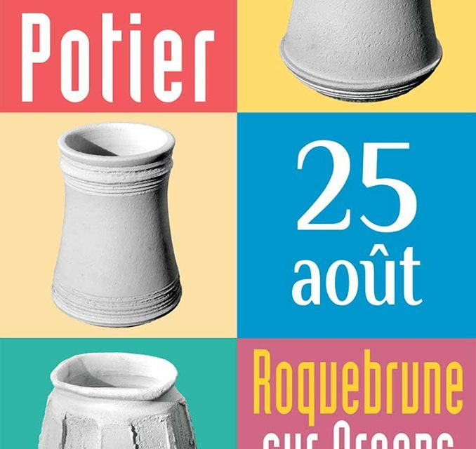 Marché potier à Roquebrune-sur-Argens