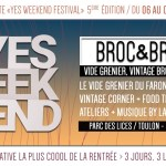 Broc & Brunch – Yes Week-End Festival