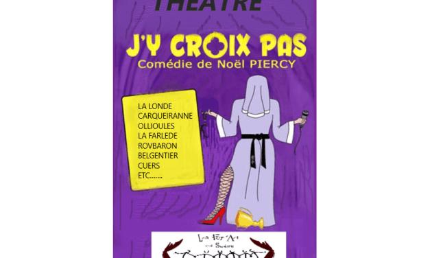 Soirée théâtre à La Roquebrussane
