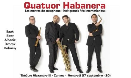 Quatuor Habanera à Cannes