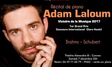 Récital de piano ADAM LALOUM à Cannes