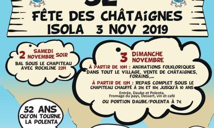 Fête des Châtaignes 2019