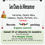 Vente de Noel au profit des Chats du Mercantour
