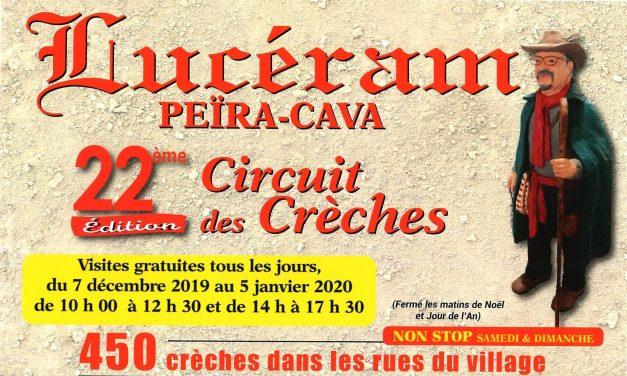 Circuit des Crèches de Lucéram