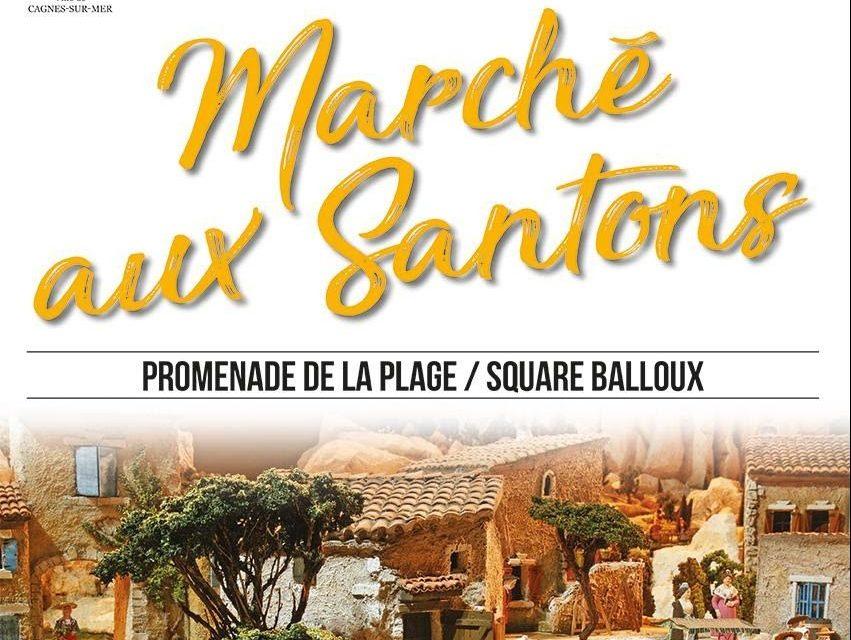 Marché aux Santons à Cagnes-sur-Mer