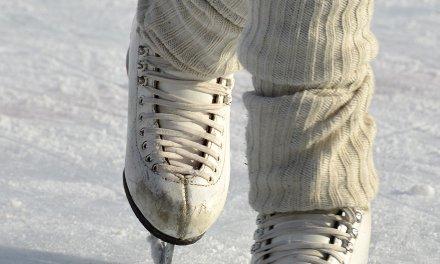 La patinoire à Monaco