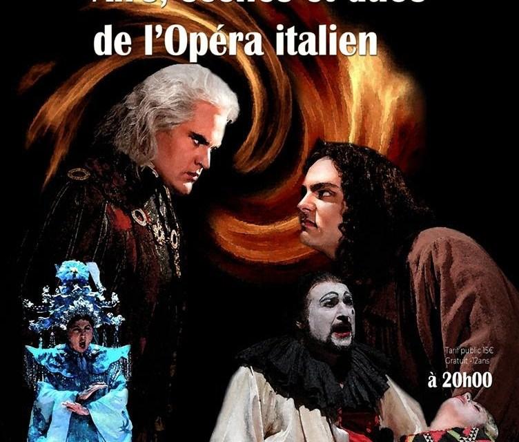 Airs, scènes et duos de l'opéra Italien à Cagnes-sur-Mer