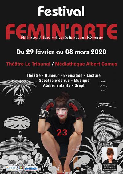 Festival FEMIN'ARTE à Antibes
