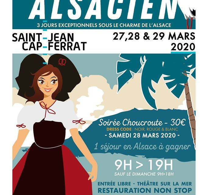 Marché Alsacien à Saint-Jean-Cap-Ferrat