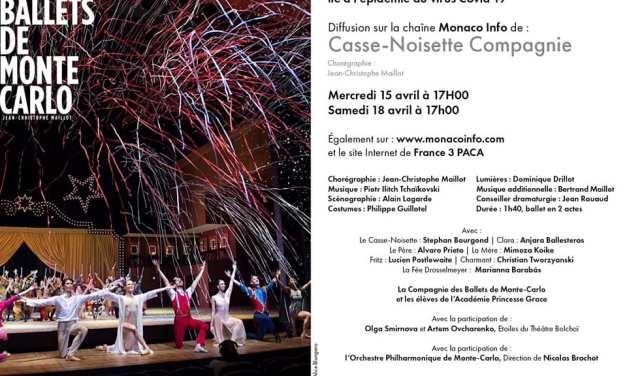 Retransmission du Ballet Casse-Noisette Compagnie