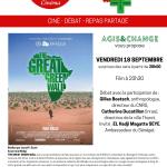 AGIS & CHANGE : FILM-DÉBAT-REPAS PARTAGÉ