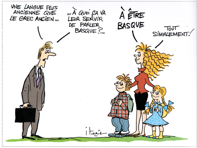 blague drole sur les basques