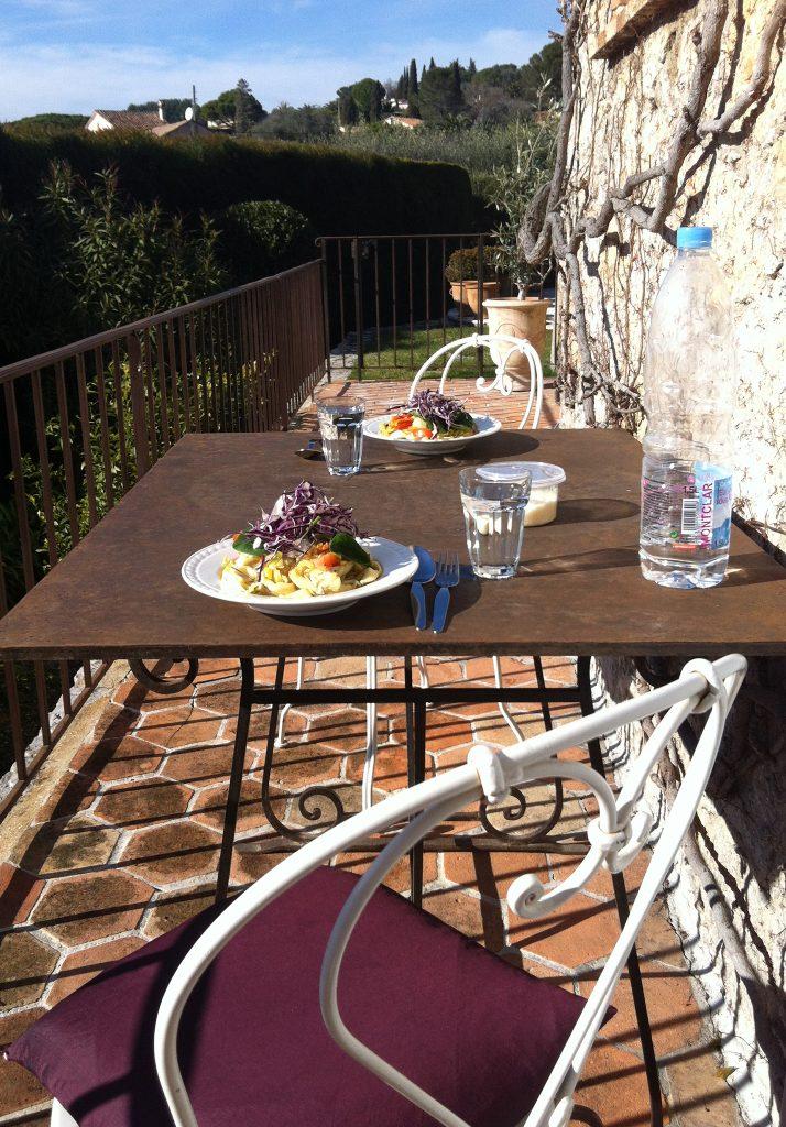 Mougins Mittagssonne Winter warum Côte d'Azur