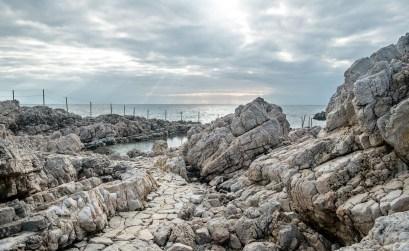 Cap d'antibes - sentier du littoral