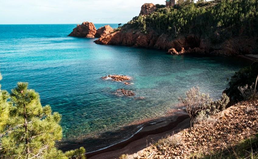 Calanque de Maubois - baden an der Corniche d'Or