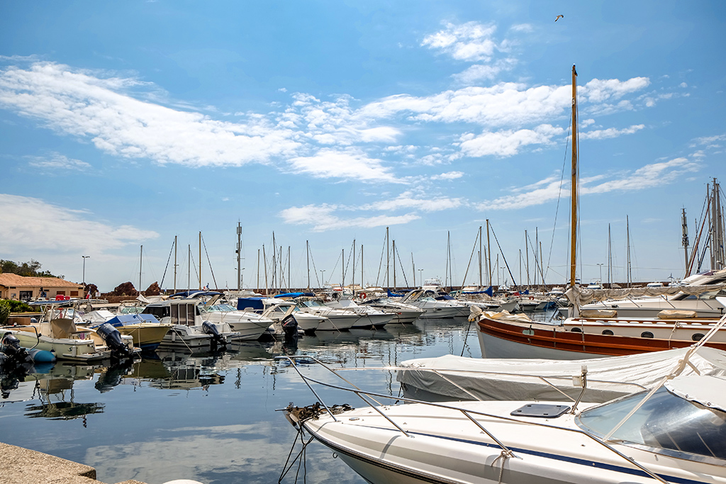 Der Hafen in Miramar /Théoule