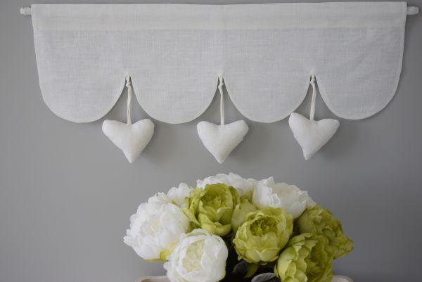 Rideaux brisebises cantonnires et stores  Dcoration Shabby Chic Romantique pour la Maison