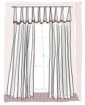 donnez du style a vos rideaux cote maison