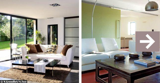 Decoration Contemporaine Salon Salon Contemporain D Co