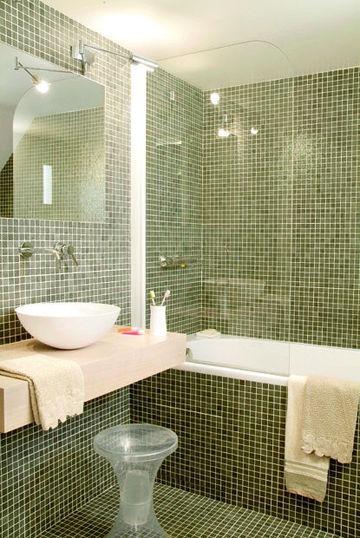 Carrelage salle de bains mosaque salle de bains  6