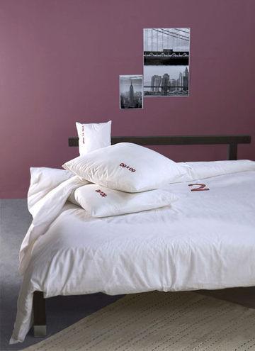 Dco  du violet pour une chambre chic en 7 photos  Ct Maison