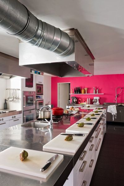 Dco  7 cuisines pour voir la vie en rose  Ct Maison